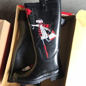 NEW DKNY RAIN BOOTS